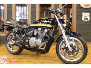 カワサキ/ZEPHYR550 逆車 国内新規登録 モリワキショート管 エンジンガード