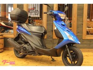 スズキ/アドレスV125S 2010年モデル リアBOX付き