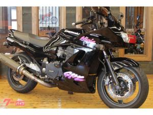カワサキ/GPZ1100-2 1998年 テックサーフマフラー スモークスクリーン ゲルザブシート フェンダーレス