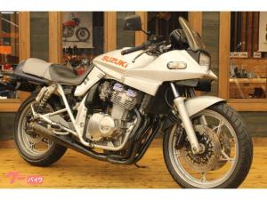 スズキ/GSX400S KATANA カタナ 1992年 GK77A型 ヨシムラマフラー シート張替済み