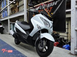 スズキ/バーグマン200 新車 最新モデル ホワイト