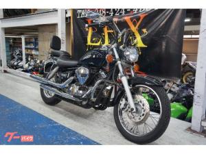 ヤマハ/ドラッグスター250 ブラック バックレスト 2001年モデル