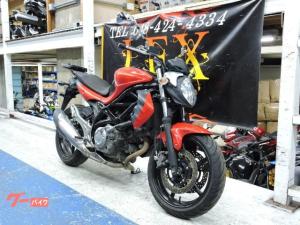 スズキ/グラディウス400 ABS 初年度2012年 レッド