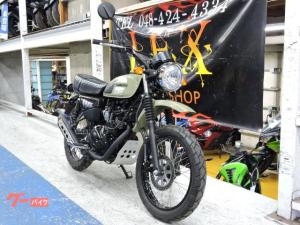 カワサキ/W175TR SE 新車 グリーン