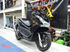 ホンダ/PCX ブラック マフラー改 JF28前期