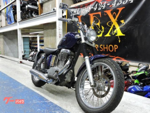 スズキ/サベージ400 カスタム ボバースタイル 単気筒