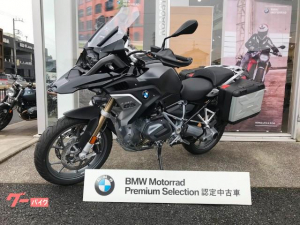 BMW/R1250GS 純正パニア・LEDフォグ