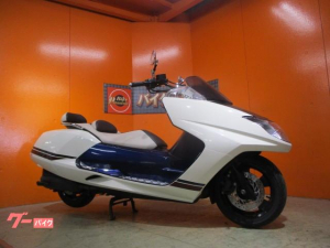 ヤマハ/マグザム SG21J 中期2010年モデル スポーツグリップヒーター アルミステップボード 純正鍵リモコン