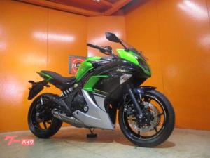 カワサキ/Ninja 400 ABS ETC 2014年 キャンディライムグリーン・メタリックスパークブラック 純正フルノーマル車両