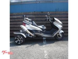 トライク/トライク ヤマハ マジェスティトライク250 NEWペイント 側車付オートバイ