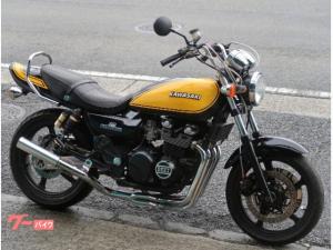 カワサキ/ZEPHYR400 ブラックイエローボール Z2外装 社外マフラー
