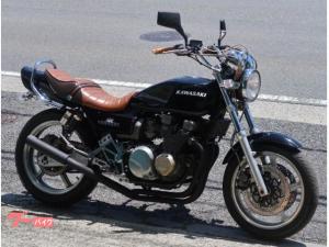 カワサキ/ZEPHYR400 ブラック Z2仕様 社外マフラー アルフィンカバー