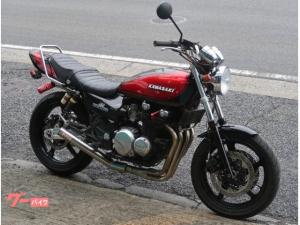 カワサキ/ZEPHYR400 ブラックレッドボールカラー Z2外装 マーシャル メッキ集合管