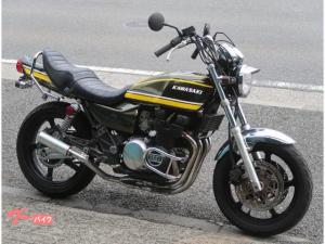 カワサキ/ZEPHYR400 玉虫カラー Z2仕様 社外マフラー EGガード BEET