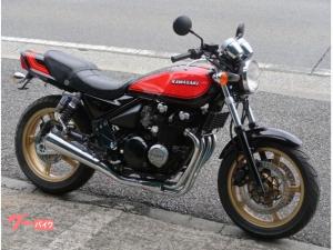 カワサキ/ZEPHYR400 火の玉カラー ブラックエンジン GOLDホイール
