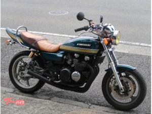カワサキ/ZEPHYR400 玉虫カラー Z2外装 集合管 カイエンジン