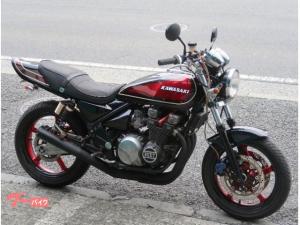 カワサキ/ZEPHYR400 変形ブラックレッドボールカラー 集合管 BEET