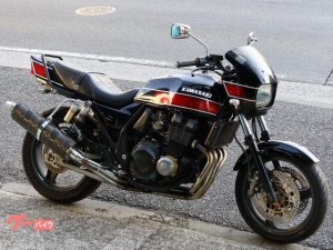 カワサキ/ZRX400 FXカラー カーボンマフラー タンデムバー Rフェンレス