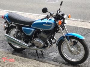 カワサキ/KH400 ライトブルー&ホワイト