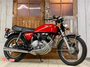 ホンダ/CB400F(408cc) レッド ジュリアーリシングルシート
