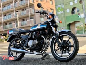 カワサキ/Z400FX ブラックブルー 国内 ヴァンス&ハインズマフラー