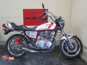 スズキ/GS400 ダブルディスク マルゾッキ 外装NEWペイント タイヤ前後新品