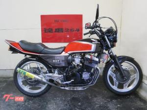 ホンダ/CBX400F キャブ再生 外装NEWペイント RPM官新品 タイヤ前後新品
