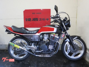 ホンダ/CBX400F キャブ再生 外装NEWペイント RPMマフラー新品 前後タイヤ新品