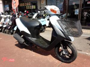 スズキ/レッツII 2サイクルエンジン ライトブルー