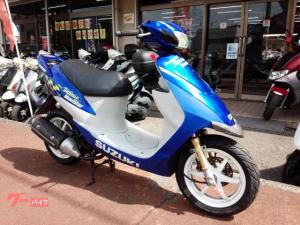 スズキ/ZZ 2サイクル モビスターブルー
