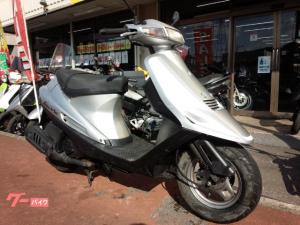 スズキ/アドレスV100 後期モデル 2サイクル シルバー