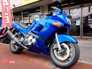 カワサキ/ZZ-R400 BEETナサート集合マフラー メタリックブルー
