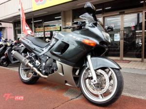 カワサキ/ZZ-R400 2本出しデルケヴィックカーボンマフラー スモークスクリーン ガンメタリック