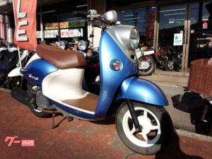 ヤマハ/ビーノ 水冷4サイクル FI車 ライトブルーメタリック