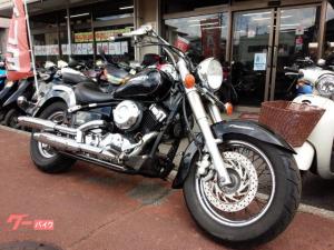 ヤマハ/ドラッグスター400クラシック Vツインエンジン ブラック