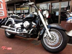 ヤマハ/ドラッグスター400クラシック VH01J 空冷Vツインエンジン ブラック