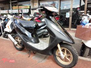 ホンダ/ライブDio ZX 2サイクルエンジン ステンレスマフラー エナメルシート アルミステップボード ブラック