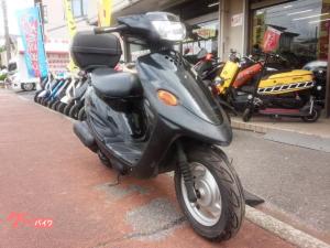 ヤマハ/BJ 2サイクルエンジン シャッターキー リヤボックス付き ブラック