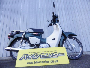 ホンダ/スーパーカブ50 国内最新モデル グリーン