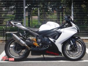 スズキ/GSX-R600 ベビーフェイスバックステップ BMS-Rスリップオンマフラー装備