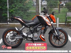 KTM/125デューク 2011年モデル