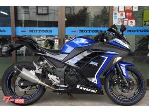 カワサキ/Ninja 250 スペシャルエディション LEDヘッドライト チタンサイレンサー タイヤ山あり
