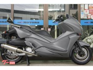 ホンダ/フェイズ マットグレーカラー ステンレスマフラー 新品タイヤ バックレスト ミリタリーカラー