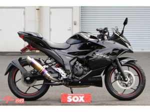 スズキ/GIXXER SF 150 ABS ウィルズウィンフルエキ付