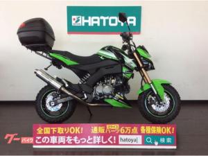 カワサキ/Z125PRO スペシャルエディション タケガワボンバーマフラー