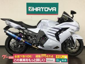 カワサキ/Ninja ZX-14R 東南アジア仕様 BEETサイレンサー オーリンズリアサス 他カスタム多数