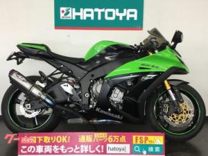 カワサキ/Ninja ZX-10R 2014年モデル BEETサイレンサー ゼログラスクリーン トリックスタースライダー装着