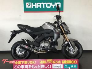 カワサキ/Z125PRO 社外マフラー