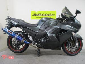 カワサキ/ZZ-R1400 ABS 2006年モデル BEETナサートスリップオン ハリケーンバーハンドル ラジアルマスター ETC他