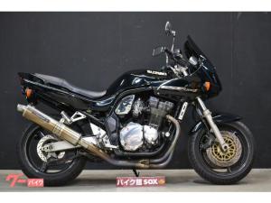 スズキ/GSF1200S 1998年モデル ヨシムラフルエキ ゼログラビティスクリーン フェンダーレス